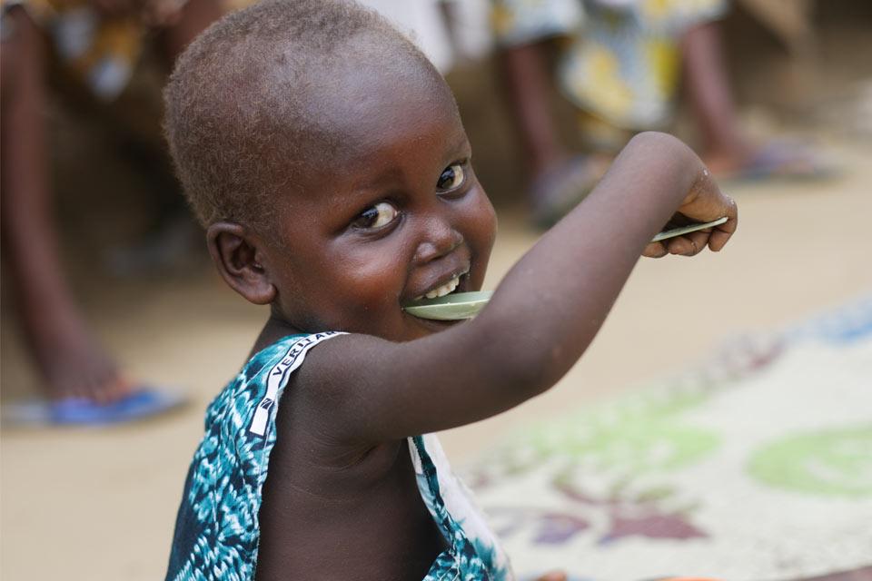 éradiquer la mortalité infantile liée à la malnutrition